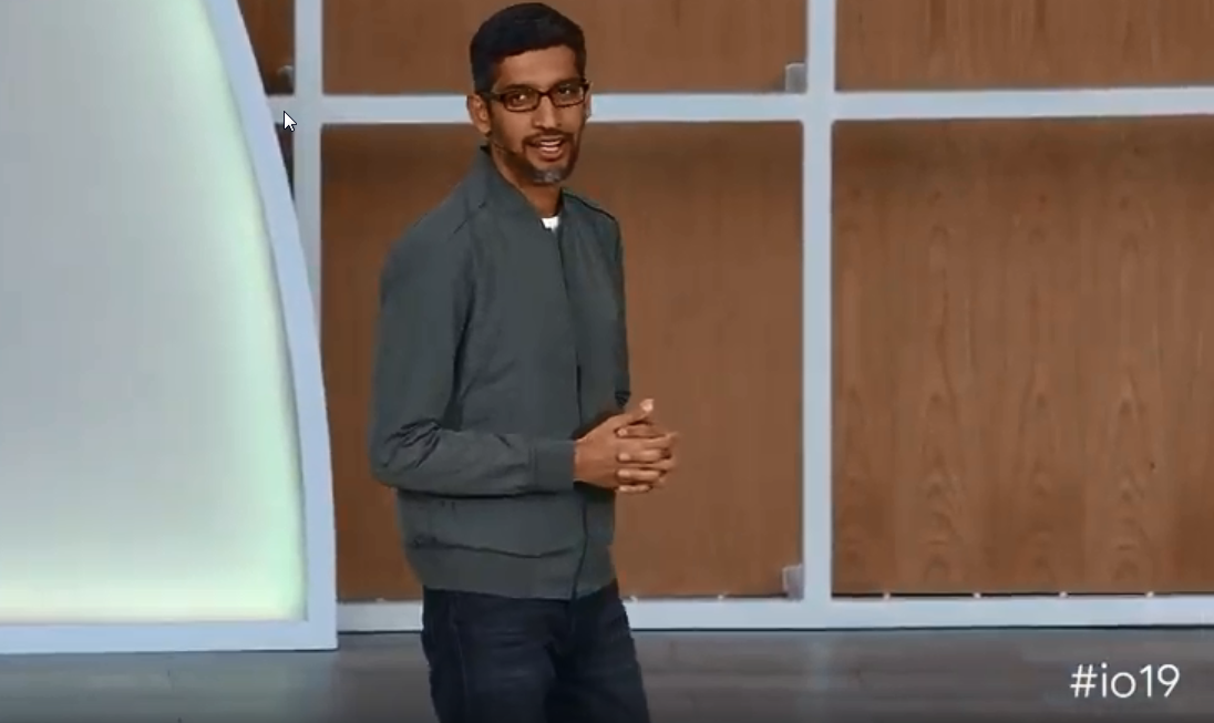 Source: Google I/O 2019 / Screenshot von youtube.com/watch?v=lyRPyRKHO8M