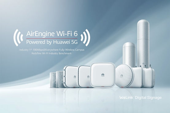Wi-Fi 6 Access Points von Huawei AirEngine