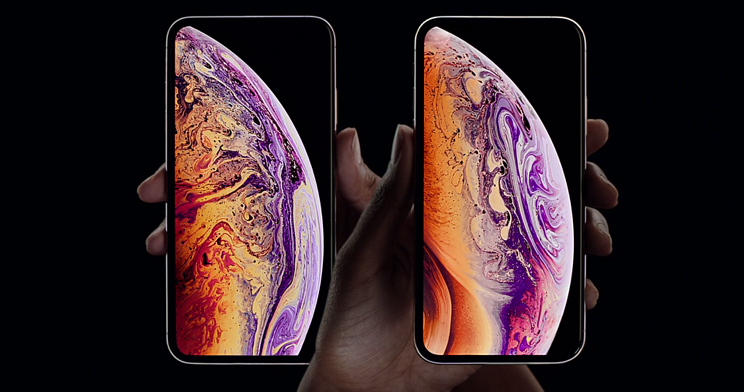 iPhone XS. (Source: Screenshot apple.com)